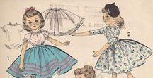 vintage doll and toy patterns
