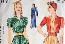 1930s womens sewing patterns