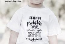 Camisetas para bebés y niños / Camisetas personalizadas para niños,con diseño exclusivos para niños únicos