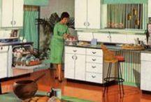 1960s kitchen