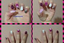 Nail Art - Uñas / Encontrarás todo lo relacionado a decoración de uñas. #NailArt #Nails #Caroldriguez #Design