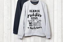 Camisetas y sudaderas para hombres / Camisetas y sudaderas personalizadas con mensajes entrañables