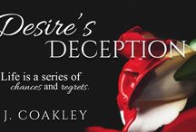 Desire's Deception / Smoking hot reads,What to read after Fifty Shades, Dark Erotic Romance, BDSM Romance, S&M, Dominant and Submissive, Suspense, Romance, Taboo