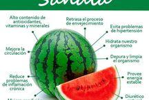 Beneficios de los alimentos. / Características y propiedades de los alimentos.