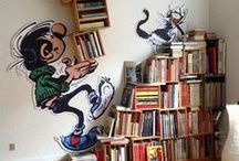 Bookshelves for Kids / Fun and #DIY bookshelves for your kids' rooms.