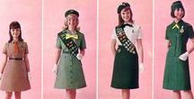vintage scouting / the wonderful tradition of the boy and girl scouts