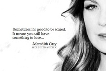 Grey's Anatomy Quotes / The ties that bind us are sometimes impossible to explain. They connect us even after it seems like the ties should be broken. Some bonds defy distance and time and logic. Meant to be. Grey's Anatomy quotes