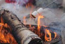 Fireside / Smokey warm goodness.