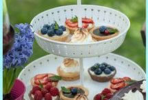 Tartelettes / Awesome little cakes with fresh fruit!