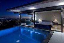 Blue moon feeling / interiors and exteriors in blue | sinisiä unelmia