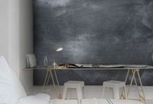 In shades of grey / interiors in different shades of grey | harmaan sävyissä | #grey #gray #gris #harmaa #shades #interior #wall