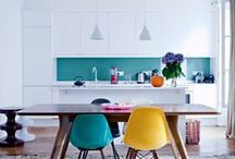 Colour me happy / World without colour is nothing | väreistä virtaa | #colour #colors #colourful #bright #happy #interior