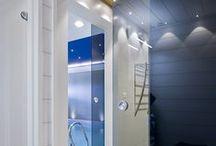 Unbroken glass / Glass lets the light in and out - glass walls, sliding doors and big windows | lasi tuo valon ja maiseman sisään