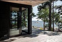Summer dreams / Dreams for building that perfect summer retreat | kesä - vuodenajoista parhain | #summer #scandinavian design #scandinavia #wooden