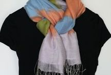 шарфы,платки и как удачно их носить!