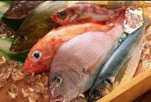 блюда из рыбы,кальмаров,гефильте