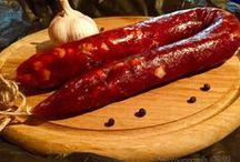 домашняя колбаса,сосиски