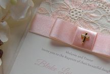 christening ideas girl / A lil inspiration