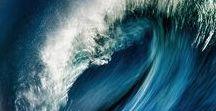 Waves, sea, ocean