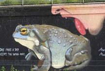 Street Art / street art, graffiti, Berlin, colours, city