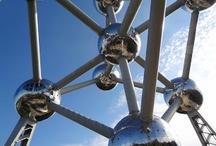 Stunning Architecture / Berlin, Brussels, Atomium, Reichstag, glas, building