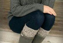 Couture, crochet, tricot : Idées vêtements / by Anne