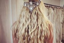 hairstyles / bridal´s different hairstyles at their marriage day
