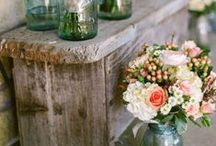 Wedding / All about details of dream-wedding: flowers, decoration, atmosphere...  Key words: rustic, 1920s, vintage, and old-fashioned romanticism.   Simple and beautiful.