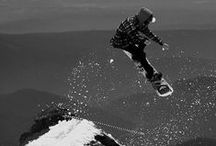 Snowboarding<3 / It´s been said that the brave might not live forever, but the cautious never live at all...