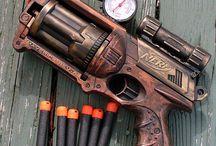 Customized toy guns
