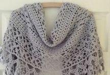 Crochet/Haken> sjaals,omslagdoeken, enz. / s,omslagdoeken, fingerless mits, enz enz.