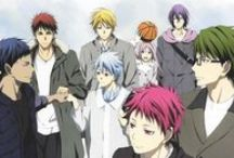 Kuroko no basket :3 ♥ / KNB is one of my favorite animes. Funny, Sport, Basketball, Teammates, Love, Couple, Friend, Hate, Happiness, Trust, Partner,