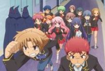 Baka To Test To Shoukanjuu ♥ ^^ / Anime, Friends, Partner, Chibi, Love, Hate, Comedy, School, Contest