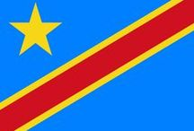 ✧ Congo, Democratic Republic of the ✧ / The Democratic Republic of the Congo (French: République démocratique du Congo), also known as DR Congo, DRC, DROC, RDC, Congo-Kinshasa, or simply Congo is a country located in Central Africa. From 1971 to 1997 it was named Zaïre. Capital: Kinshasa
