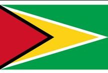 ✧ Guyana ✧ / Guyana, officially the Co-operative Republic of Guyana, is a sovereign state on the northern mainland of South America. Capital: Georgetown