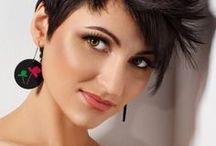 Kurzhaarfrisuren - Short Cuts / Schicke Kurzhaarfrisuren für Damen, freche und pfiffige Short Cuts, elegante und festliche Kurzhaarfrisuren