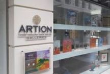 ARTION KIFISIA / In March 2014, ARTION launched its activity in Athens and inaugurated an art gallery in Kifisia, one of the most expensive suburbs of Athens.