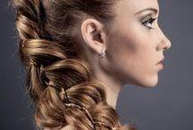 Flechtfrisuren / Flechtfrisuren für langes und mittellanges Haar, geflochtene Zöpfe, geflochtene Haare und Frisuren und geflochtene Hochsteckfrisuren