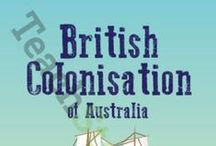 First Contact Stage 2 (Group 50) / This board is designed as a part of EDSS279 History component. It is designed for Stage 2 students, covering syllabus outcome HT2-4 in an effective, relevant and engaging manner.* Overall this board is an attempt at describing and explaining the effects that British colonisation had on Australia and its people.    * HT2-4: describes and explains effects of British colonisation in  Australia