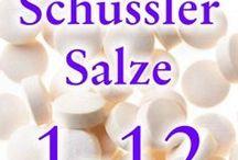 Schüssler Salze / Infos zum Thema Schüssler Salze, ihre Wirkung und Anwendung z.B. zum Abnehmen, bei Akne, in der Schwangerschaft, für Kinder, zum Entgiften, etc.