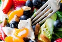 :✨ Gourmet SALADS 2 SAVOR ✨* / Sandwiches & Salads and Side Dish Veggies .hot or cold. #recipes