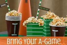 Popcorn Party Recipes / Whether it's a Super Bowl party, an Oscar party or just a casual get together, these recipes are sure to be a hit!