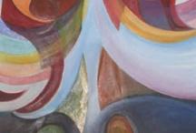 Inventando Colores / Conjunto de trabajos realizados mediante pintura al óleo sobre lienzo.