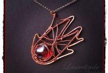 Wire wrap: inspiration / by Laurelinde Sieraden
