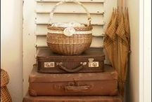 Vintage Vignettes and Collections