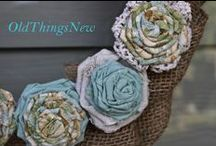 Handmade Flowers / Handmade and vintage inspired flower creations, made from fabric, lace, felt, ribbon, paper, coffee filters and more.