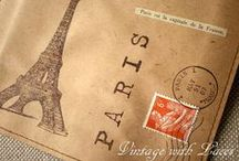 Cards, Tags etc. by Vintage with Laces: