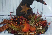 halloween/fall / decoratie voor halloween en herfts