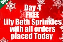 12 Days of Christmas / Website Offers and Prize Giveaways for our Fans! xx