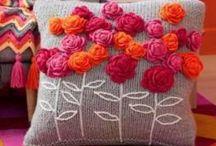 Crochet pillow / Decoración